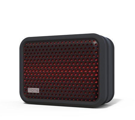 iHome iBT7 Waterproof Bluetooth Speaker Red/Black Finish ()