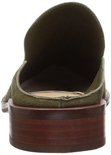 cheap new styles Sam Edelman Women's Lewellyn Mule Moss Green Suede clearance big sale official site tgUkg4BVqG