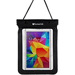 Universal Waterproof Tablet Sleeve Pouch Bag for Samsung Galaxy Tab 4 7.0 / Acer A1-830 Tablet / all ipad mini / Kindle Fire 7.0inch Tablets (Black)