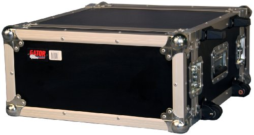 Gator 4U, Standard Audio Road Rack Case with Wheels (G-TOUR 4UW) -