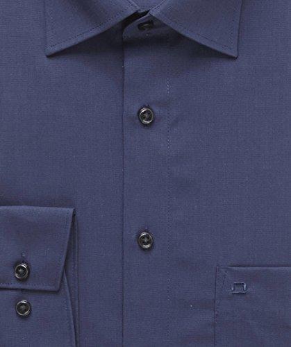 Chemise style moderne olymp luxor fil a fil-bleu - 39 de régler l'encolure