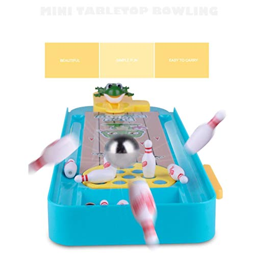 Kanzd Novelty Funny Indoor Game Gas Out Board Game Desktop Games Toy Bowling Kid (A) by Kanzd (Image #2)