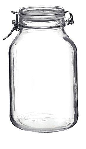 Bormioli Rocco Fido Glass Square Jar, 3 Liter by Bormioli Rocco (Image #2)