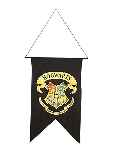 Harry Potter Hogwart's Printed Wall Banner, 30 x -