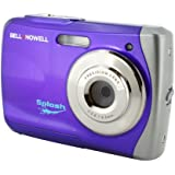 Bell and Howell WP7-P Splash 12 MP Waterproof Digital Camera (Purple)