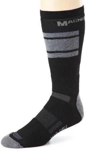 Magnum MX-2 Mag-Dry Tech Crew Dry Performance Sock (Black, Large)