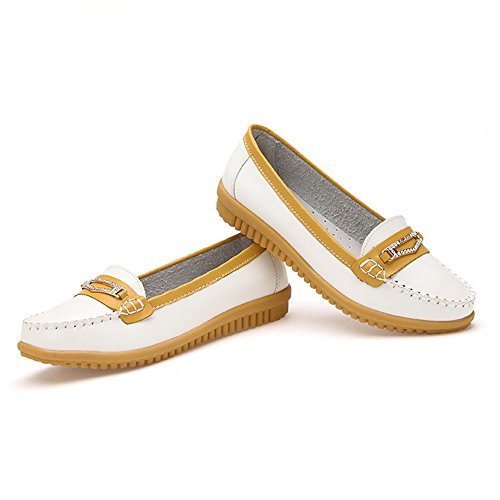 Comfortable Indoor Flat Ladies Leisure Studio Summer Outdoor Shoes Face Soft White Shoes Yangjiaxuan HYq0B