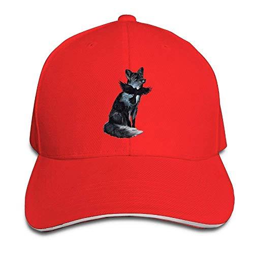 Hat Fox Birds Denim Skull Cap Cowboy Cowgirl Sport Hats for Men Women