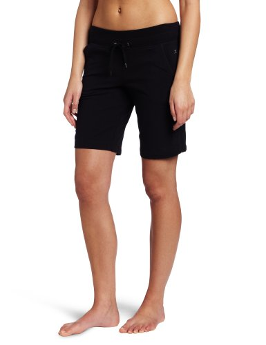 - Danskin Women's Essentials Bermuda Short, Black, Large