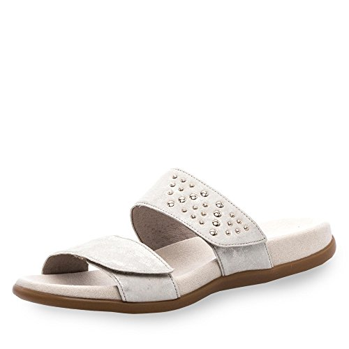 Casuales De Sandalias De Gabor De Metallic Preston Powder Mujer Leather q5n4BZBT