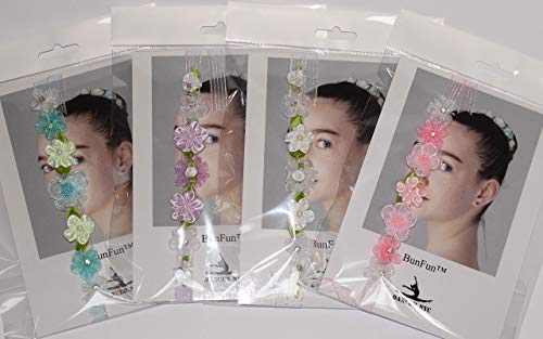 Ballet Bun Flower Wreath - Iridescent Collection