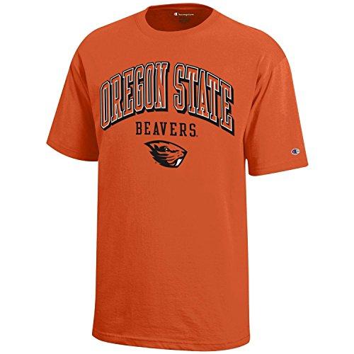 NCAA Champion Boy's Short Sleeve Jersey T-Shirt Oregon State Beavers - Jerseys State Oregon