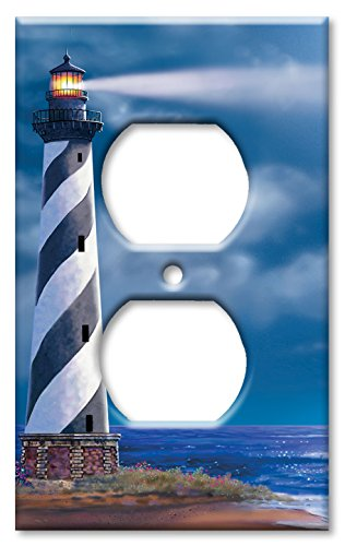 Lighthouse Light Switch Covers - Outlet Cover Wall Plate - Cape Hatteras
