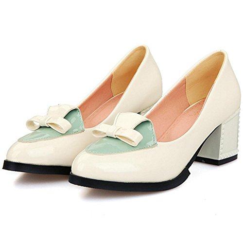 Court Slip Frauen Schuhe Coolcept On Weiß gtPWW4