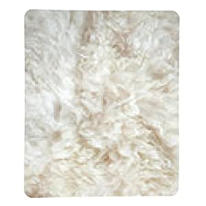 alfombrilla de ratón fondo de lana de oveja - rectangular - 23cm x 19 cm