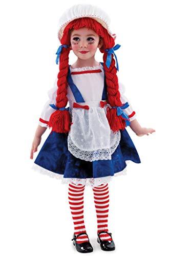 Boy Rag Doll Costumes - Yarn Babies Rag Doll Girl Toddler/Child Costume Toddler