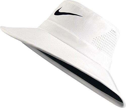 Nike Golf UV Sun Bucket Golf Hat 832687 (Medium/Large, Summit White)