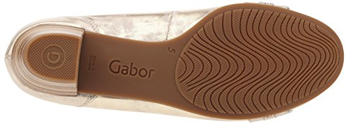 Damen Damen Ballerinas Silber Damen Gabor Ballerinas Gabor Komfort Silber Gabor Komfort 0TIcAqw47