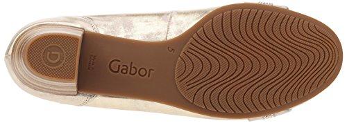 Komfort Ballerinas Silber Damen Komfort Silber Ballerinas Gabor Gabor Damen 1qP1AgYt