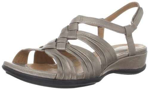 Clarks Donna Tiffany Molly Slingback Sandalo Platino Platino
