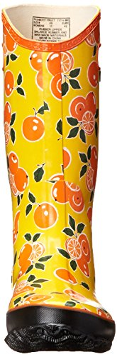 Bogs Womens Fruit Pluie Botte Orange