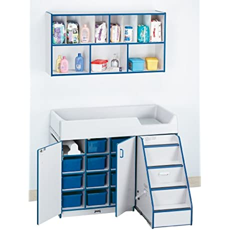 Diaper Changer Combo Right Navy School Play Furniture