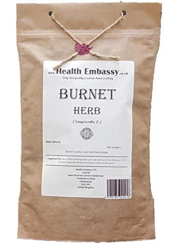 Health Embassy Großer Wiesenknopf Tee (Sanguisorba officinalis L.) / Burnet Herb Tea, 100g