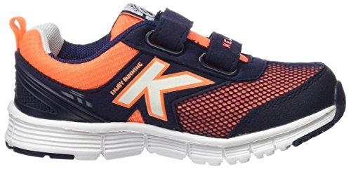 Kelme Runner One V, Zapatillas de Deporte Para Niños Azul (Indigo)