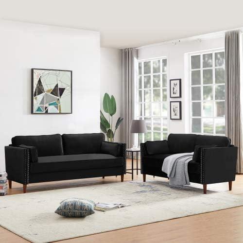 2 Pieces Sofa Set