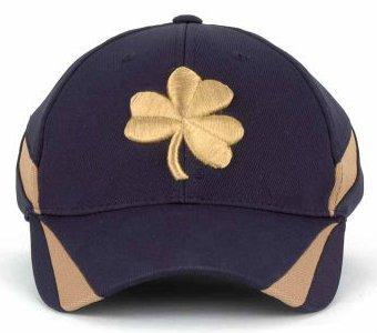 Notre Dame Fighting Irish Adidas Size Small / Medium Flex Fit Hat Cap Fits 7 through 7 3/8