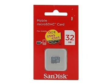 Vayne Original Sandisk SDHC de 32 GB Micro SD TF tarjeta de ...