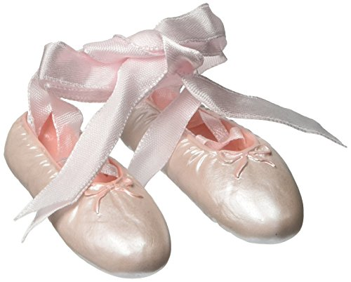 Ballerina Christmas Ornament - Ballet Collection Roman Inc Exclusive Pair of Ballet Slippers Hanging Ornament Keepsake