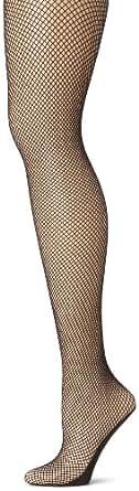 Capezio Women's Professional Fishnet Seamless Tight,Black,X-Large
