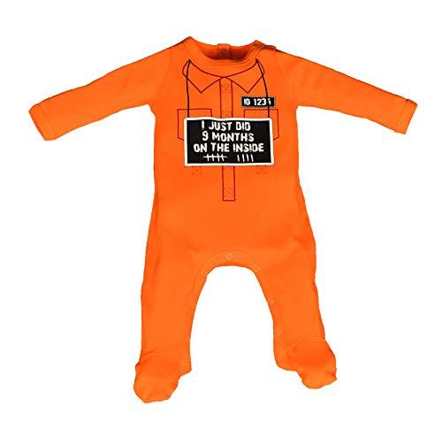 (Sara Kety, 1FSLM09 9 Months On The Inside Footie, Orange, 3)