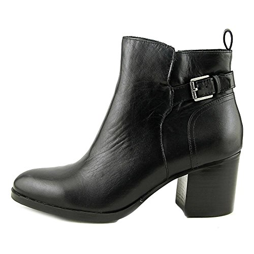 Genna by Boots Leather Ralph Womens Closed Fashion Toe Lauren Ankle Black Lauren gdqIRnd