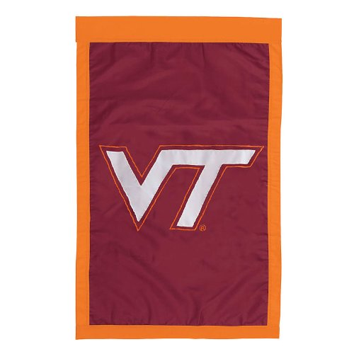 NCAA Virginia Tech Hokies Double Sided 29 x 44-Inch Applique ()