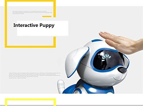 Yeezee Wirless Robot Puppy, Interactive Little Baby Pup with Magent Bone, Walking Talking Remote Control Dog, Robot Pet for Kids/Boys/Girls (BB-1) by Yeezee (Image #6)