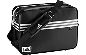 5292f8d33a11 Image Unavailable. Image not available for. Colour  Adidas Enamel Messenger  Bag ...