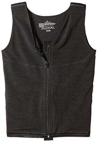 ANNETTE Men's Vest, Black, 3XL