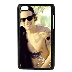 ONE DIRECTION Harry Styles Singing iPod Touch 4 Plastic Hard Cover Case