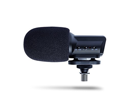 Marantz Professional Audio Scope SB-C2 | X/Y Stereo Condenser Mic for Digital Camera Mounting (AA Battery / 50Hz-18,000Hz)