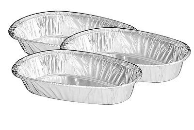 Handi-Foil Small Mini Baked Potato Shell 50/Pk – Disposable Aluminum Tins (pack of 50)
