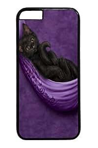 Cat's Cradle Custom Case Cover For HTC One M7 Polycarbonate Black