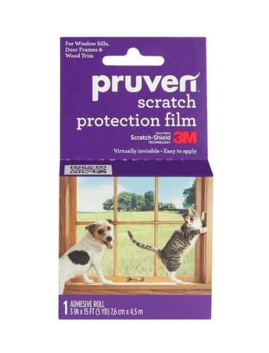 Pruven P-SPF-3-15 Pet Scratch Protection Film, 3 by 15-Feet (3m Film Window compare prices)