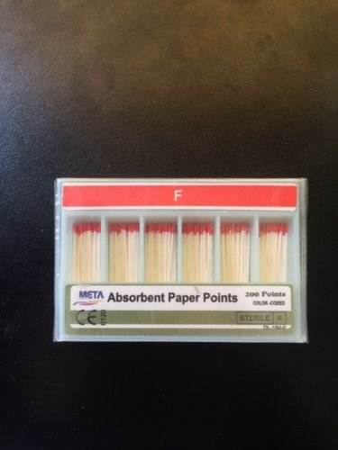 Bulk Dental Paper Point Fine 10x Of 200/pk (2000 Total Pieces)