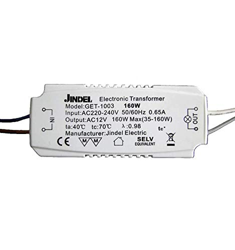 Trasformatore/ convertitore AC220-240V / AC12V Jindel GET-1003 160W KOSILUM