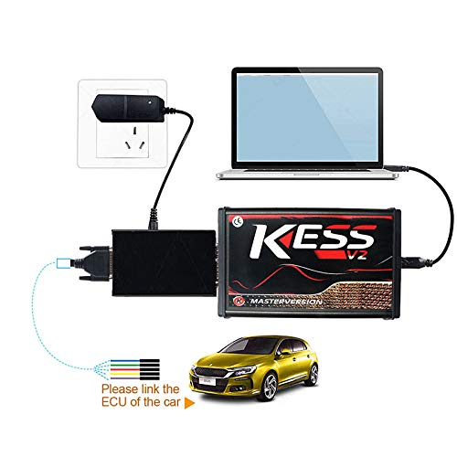 YSISLY Manager Tuning Kit Auto OBD2 KESS V2 V5.017 Master Version Kein Token ECU Programmer Diagnose-Tool-Set Online Version