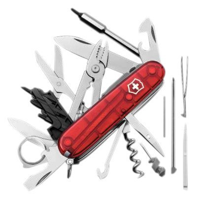 15 opinioni per Victorinox- Multiuso 91mm- CyberTool