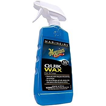 Amazon Com Meguiar S M5032 Marine Rv One Step Cleaner Wax