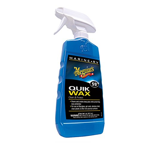 Meguiar's M5916 Marine/RV Quik Wax Clean & Protect - 16 oz. Specialized Waxes